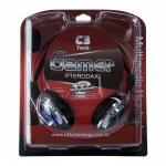 Headphone com Microfone C3 Tech Gamer Pterodax plug p2 na caixa