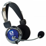 Headphone com Microfone C3 Tech Gamer Pterodax plug p2 fora da caixa