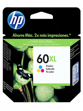 Cartucho de Tinta HP 60XL CC644WL Colorido (Tricolor) de 11ML