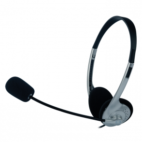 Headphone com Microfone C3 Tech Voicer Light com regulagem de altura