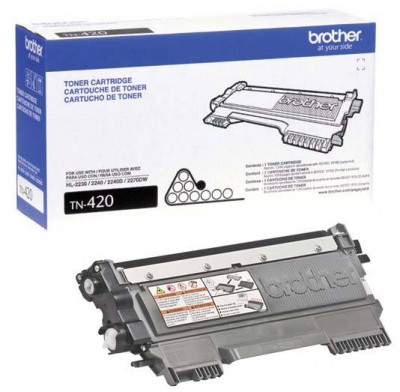 Cartucho de Toner TN-420 Preto Brother