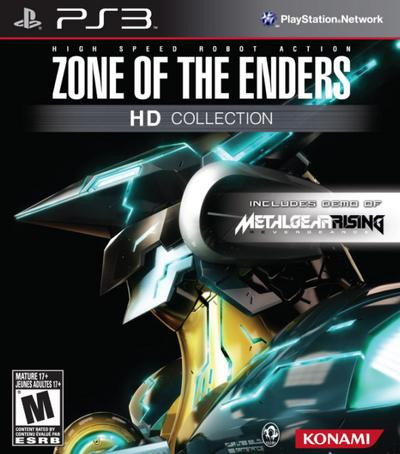 Jogo Zone of The Enders HD Collection Konami PS3